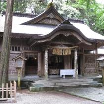 ■高千穂神社・・・当館から徒歩で約7分