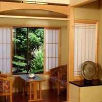■露天風呂付客室/お部屋