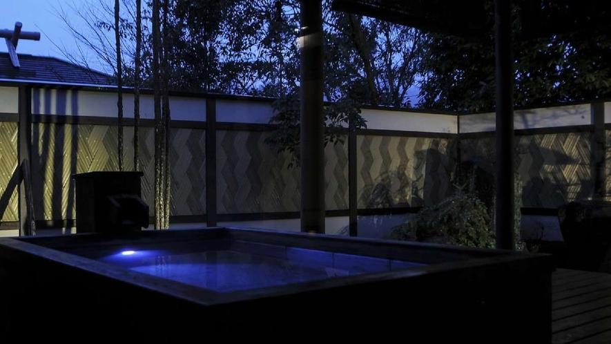 離れ|神呂木の庄「月詠・万葉」/露天風呂