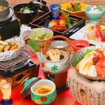 【東山館】 秋の松茸シーズン 福寿草コース 松茸料理6品
