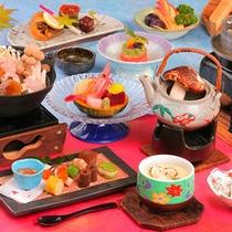 最上級料理!豪華4品松茸料理味わい尽くし♪