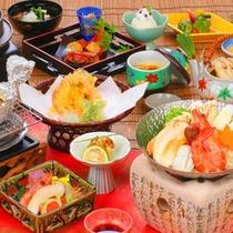 【東山館】 秋の松茸シーズン 赤松コース 松茸料理9品