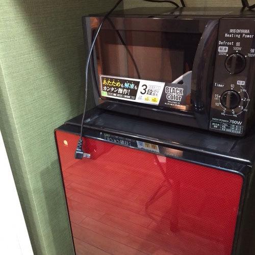 ■はなれ■冷蔵庫&電子レンジ