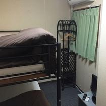 【女性専用】ドミトリー2段ベッドルーム