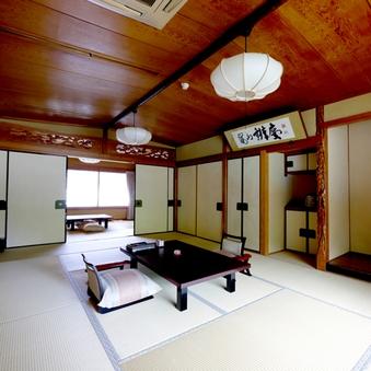 松 - リバービュー◆和室12畳+6畳+展望風呂◆