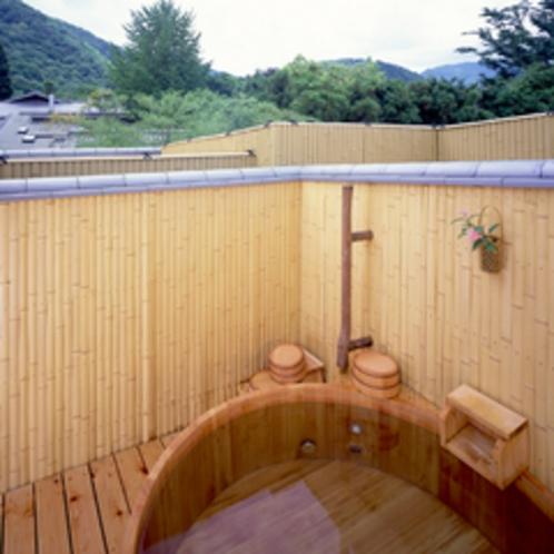 *【貸切露天】嵐山の見える貸切露天風呂も当日予約可能です。(1組2160円/45分)
