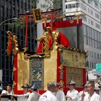 *京都の夏の風物詩【祇園祭】混み合う街中は避けて、当館を拠点に祇園祭を愉しみましょう!
