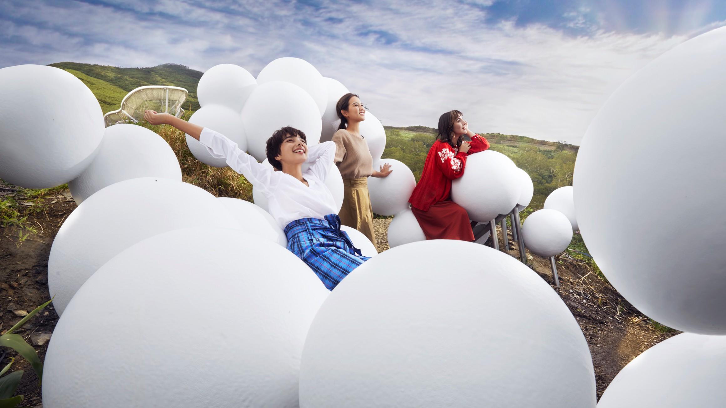 【雲海テラス】クラウドベッド