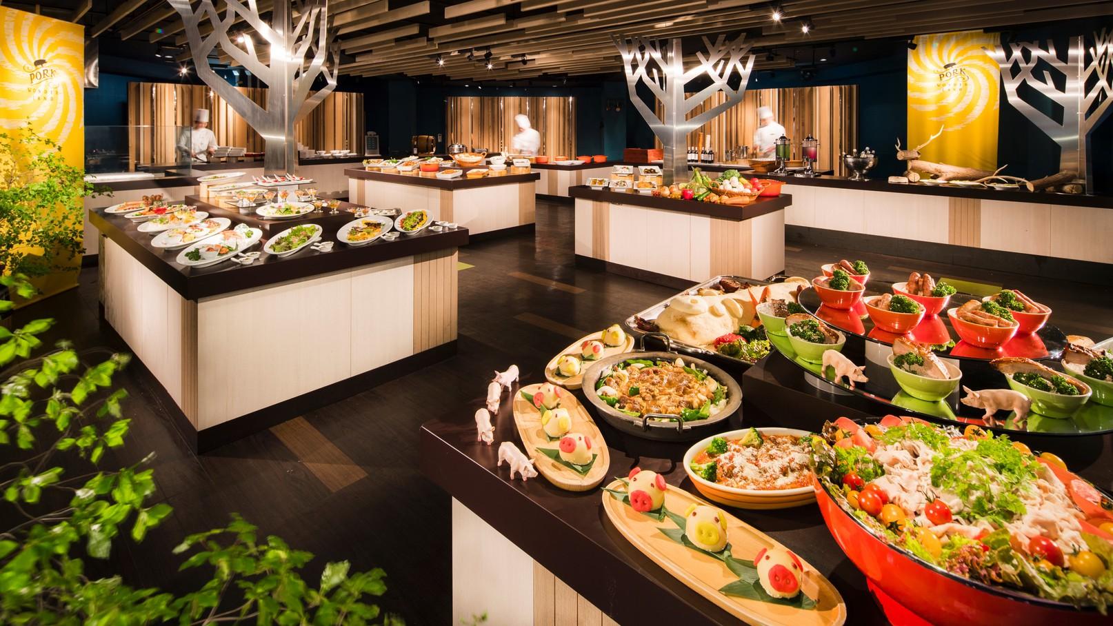 【森のレストラン ニニヌプリ】夕食イメージ