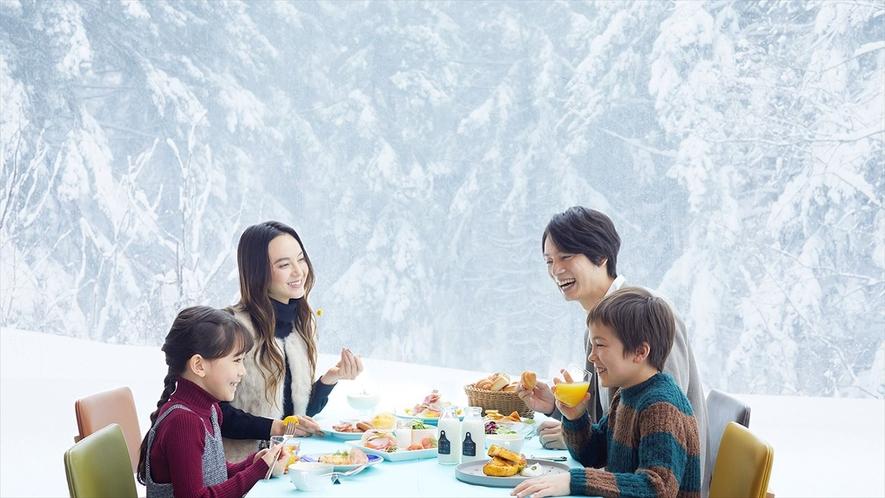 【森のレストラン ニニヌプリ】朝食イメージ