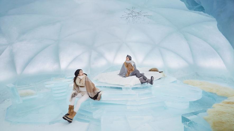 【アイスヴィレッジ】氷のホテル