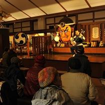 *津軽三味線ライブは、津軽伝承工芸館にて日曜開催