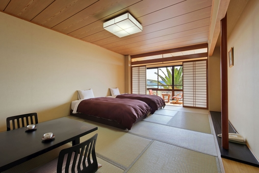 海側客室 タイプ和室モダンスタイル   (ベット2台常設)