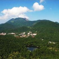 【周辺】雲仙温泉全景