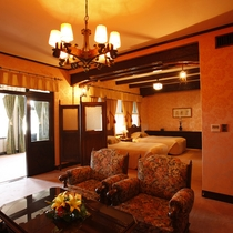【客室/特別室】昭和天皇皇后両陛下をはじめ、数々のVIPに愛されてきた雲仙観光ホテルを代表するお部屋