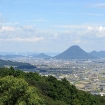 こんぴら山からの景色