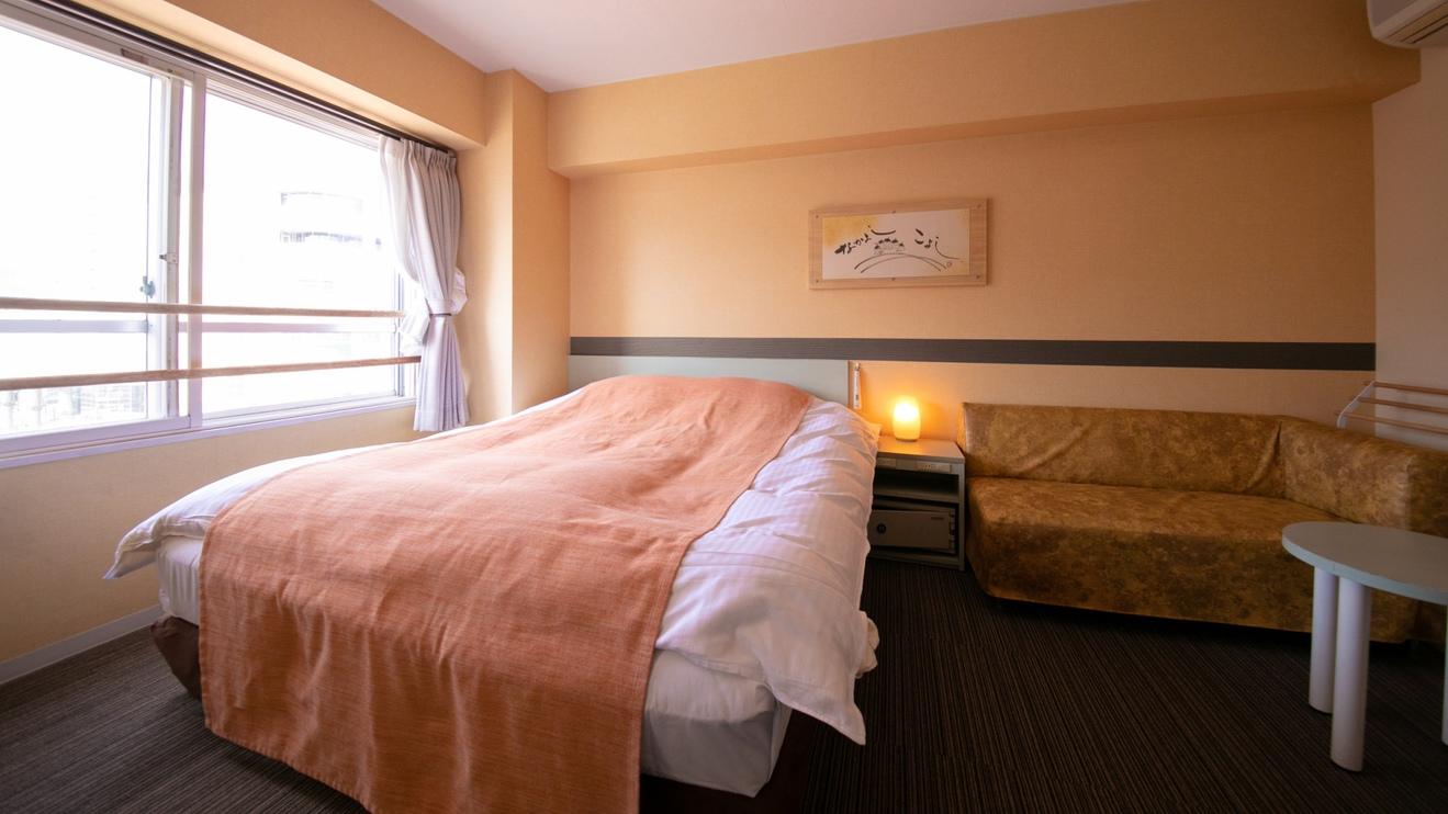 【うきうきダブル 】21.2平米 ベッド幅160