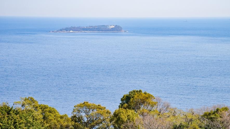 *客室からの景色/本館客室2LDK 山の上にある当館だからこそ見える景色です。