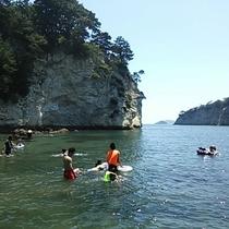 *【無人島海水浴】プライベート空間満載のビーチで海水浴(一例)