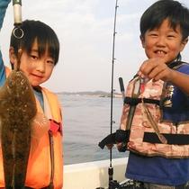 *いったい何が釣れるかはそのときのお楽しみ♪