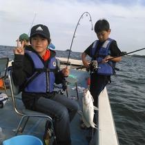 *冬の漁体験ではアイナメ・ショウサイフグを狙います!