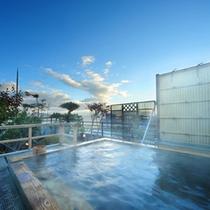 朝の展望露天風呂【浮雲〜うきぐも〜】