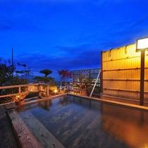 夜の展望露天風呂【浮雲〜うきぐも〜】