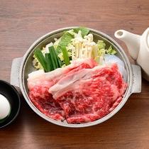 ご当地ブランド牛「上州牛」をすき焼きで♪上州野菜もたっぷり!