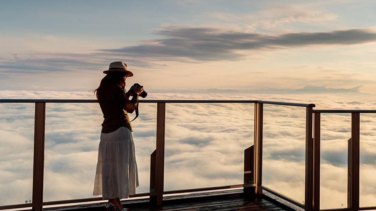 SORAterrace 雲海発生率67%