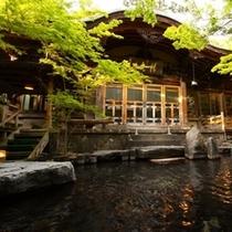 ◇【大露天風呂】まるで庭園のよう