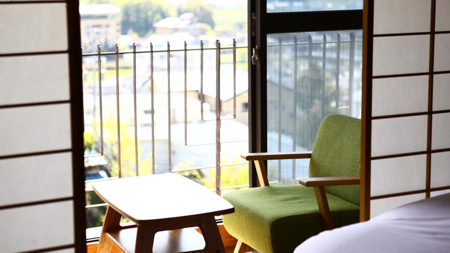 【和風ベッドルーム】広縁からの景色