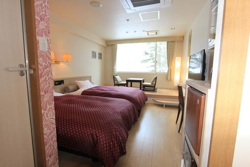 洋室禁煙※〜2名ベッド、3人目は布団
