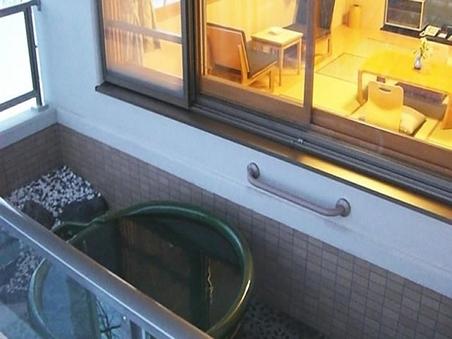 露天風呂付和室禁煙