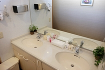 2階の洗面台