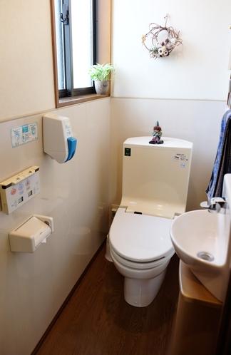 ウォシュレット完備のお手洗いは4箇所ございます