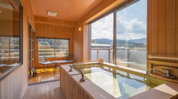 【半露天付き和モダン601】和室+洋室+半露天風呂+テラス