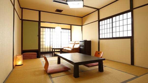 【禁煙】和室10畳〜バストイレ付〜wifi無料