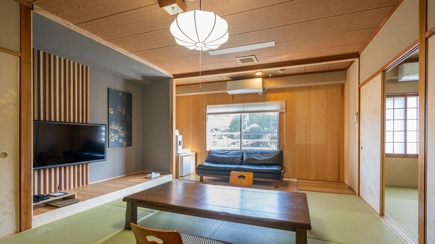 3階2間客室一例