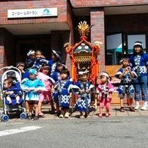 秋祭り・子供神輿