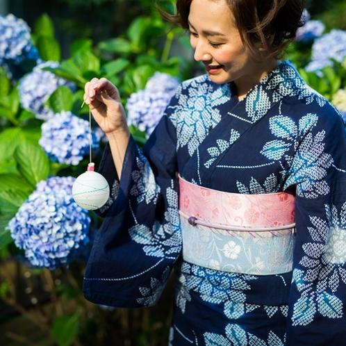 近くには紫陽花の寺「高原院」がございます。初夏に咲き誇る色とりどりの紫陽花を味わってください。