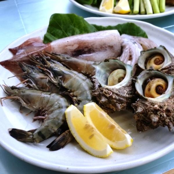 BBQ 魚介