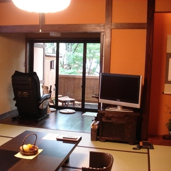 【禁煙】仙山亭 特別和洋室(温泉露天風呂・檜内風呂付)
