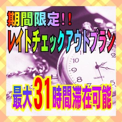 最大31時間滞在可!期間限定テレワークプラン<食事なし> ◆全室Wi-fi完備◆