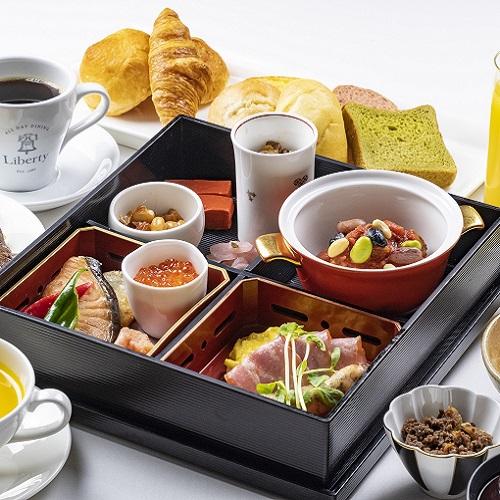 朝食は一時的にプレートスタイルでの提供となります。
