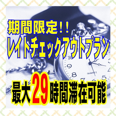 最大29時間滞在可!期間限定テレワークプラン<食事なし> ◆全室Wi-fi完備◆