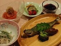 夏の和食メニュー(例)