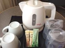 電気ポット・お茶セット
