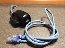 LANケーブル(光回線無料接続)