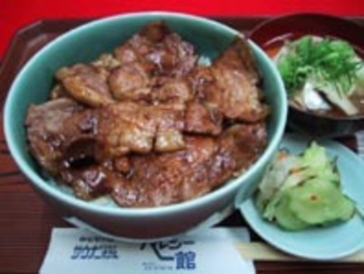 帯広名物≪豚丼≫付プラン