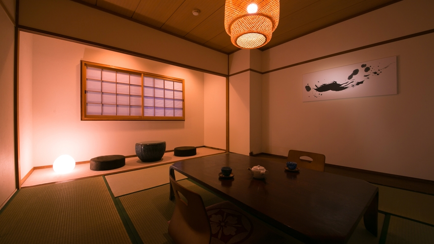 落ち着きのある清潔感にあふれる和室は旅情緒を演出します。■和室8畳■(バス付き)
